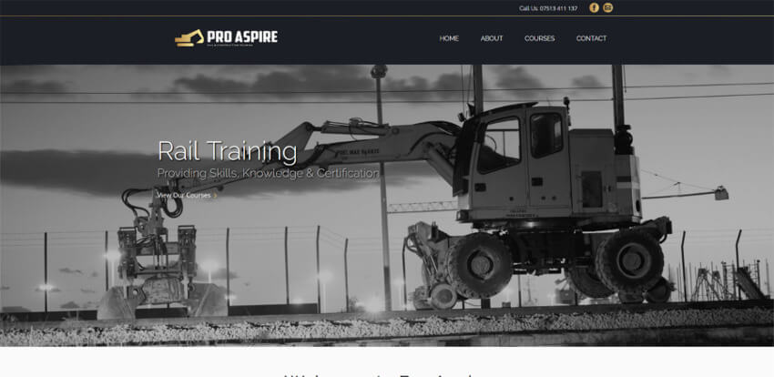 Pro Aspire Website