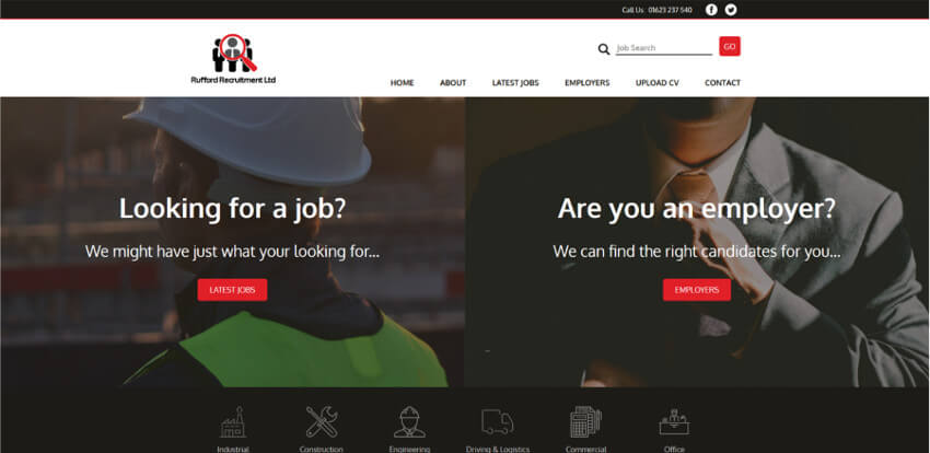Rufford Recruitment Website