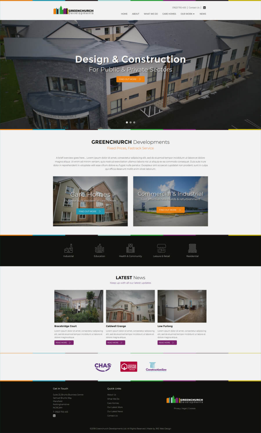 Greenchurch Developments website